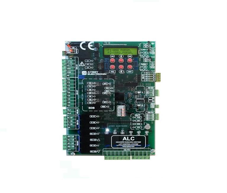 ALC electric and hydraulic lift control board