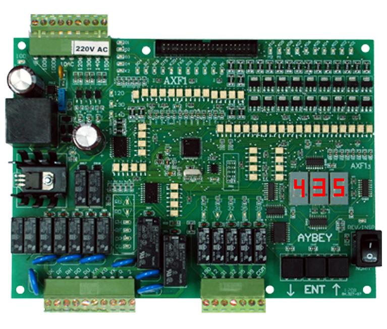 AXF electric lift control board