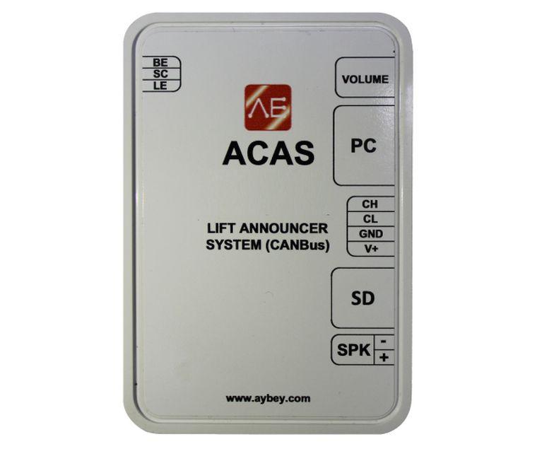 ACAS Multiple Lift Announcement System