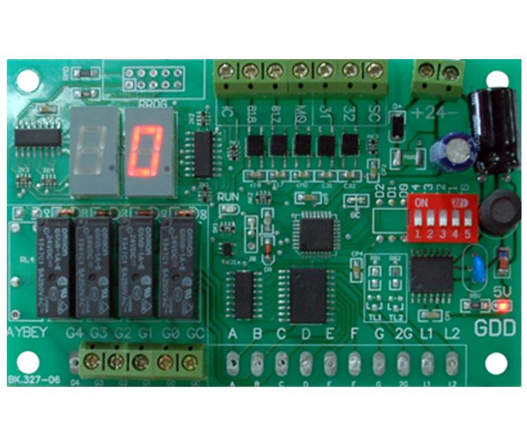 GDD Gray Code and Display Driver