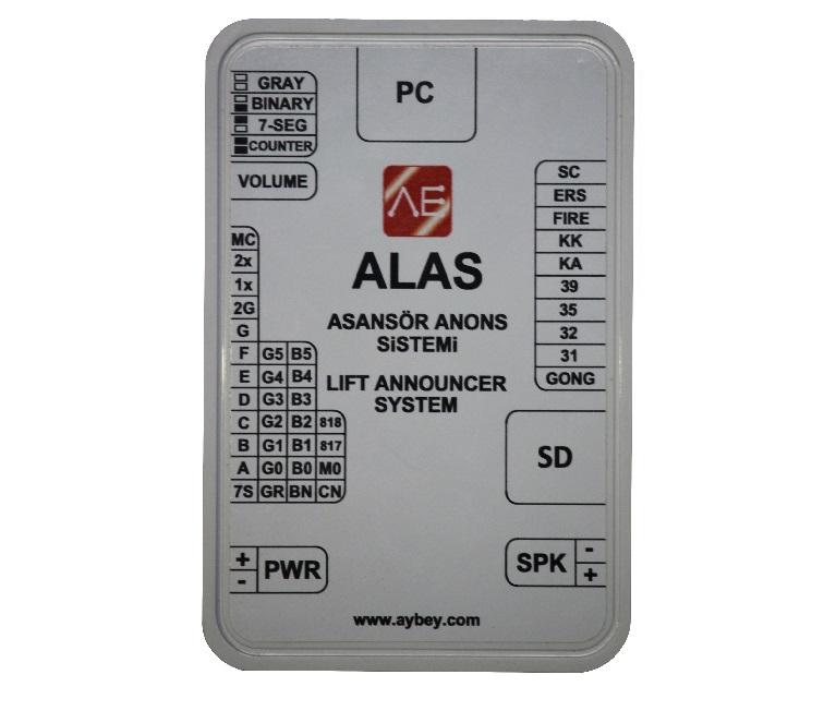 ALAS мн. функционални сповестителни системи
