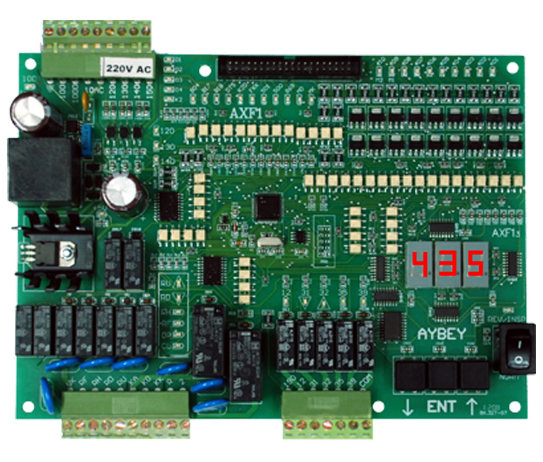 AXF electric lift control board
