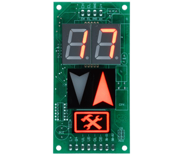 LED displays (CAN-Bus)