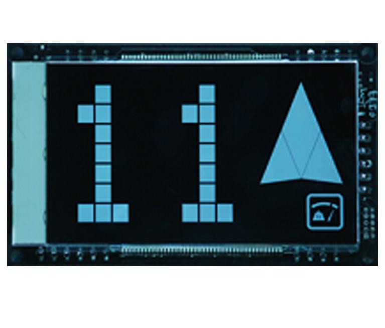 Black LCD display series