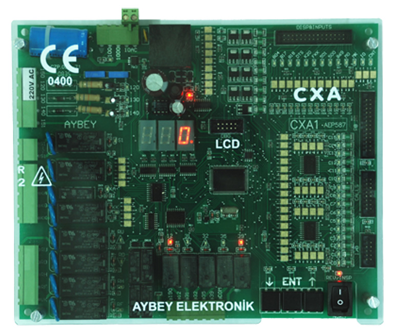 CX/ELF electric lift control board