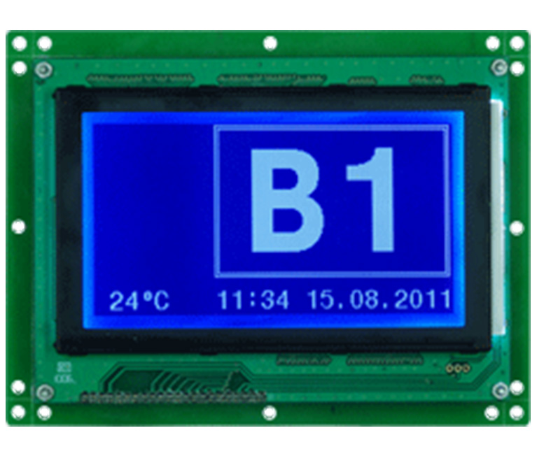 Graphic LCD display systems
